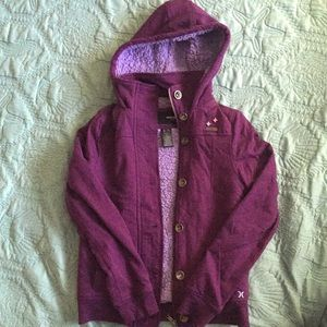 Hurley girls zip-up hoodie